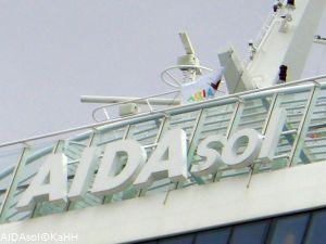 AIDAsol in Hamburg