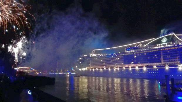Cruise Days Feuerwerk