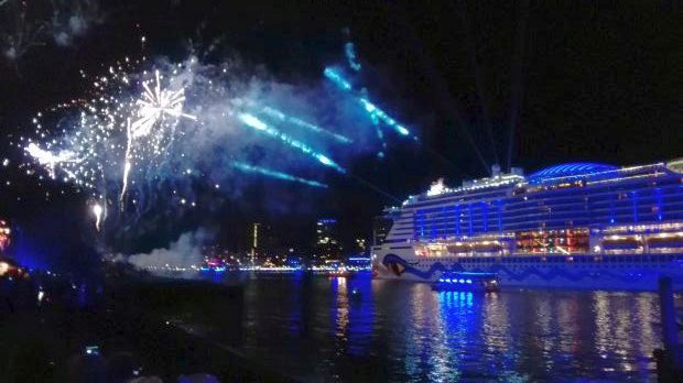 AIDA Feuwerk Cruise Days