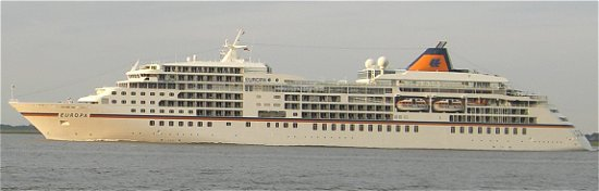 Kreuzfahrtschiff MS Europa