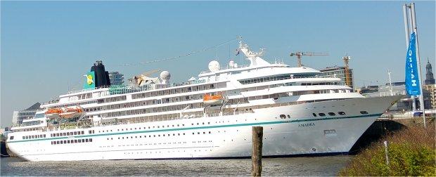 Foto MS Amadea, das ZDF-Traumschiff