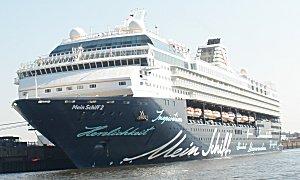 Mein Schiff 2 in Hamburg