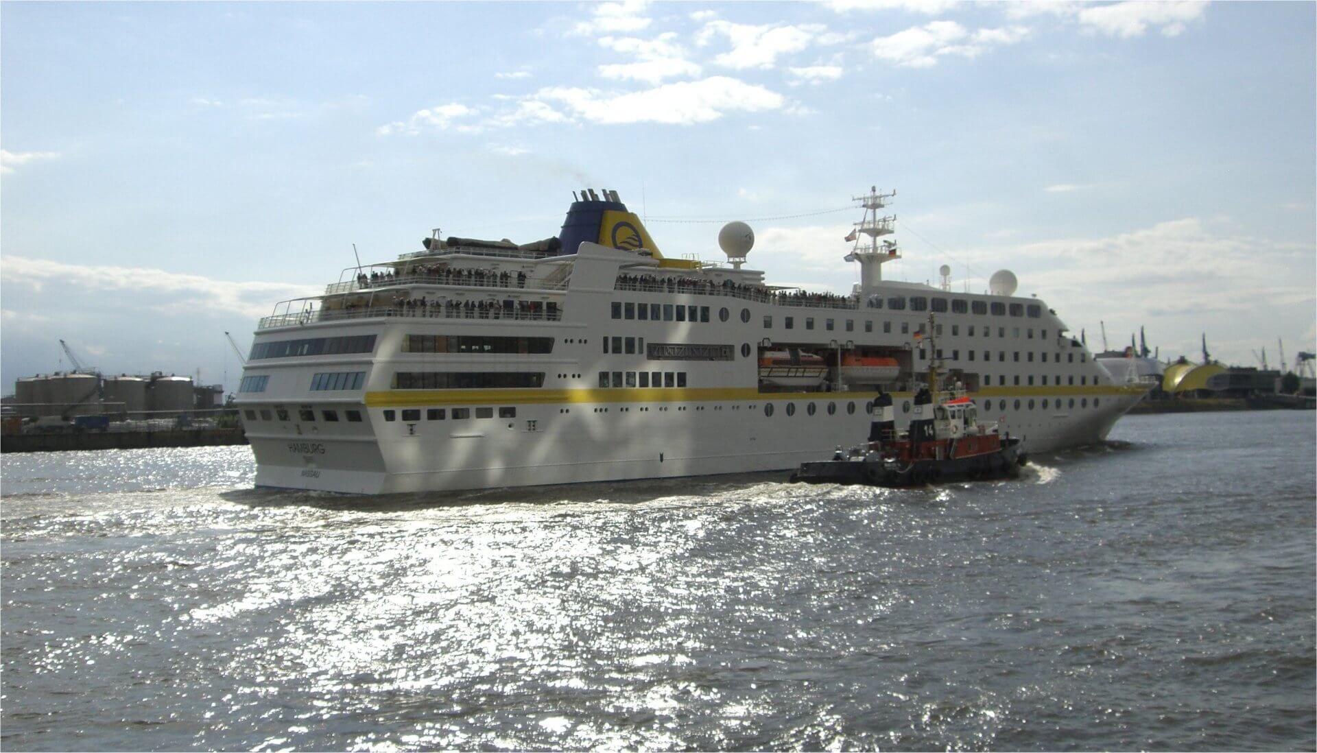 Foto MS Hamburg in Fahrt